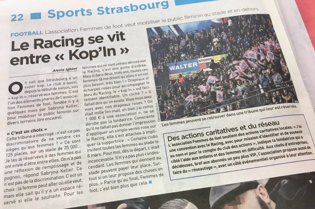 Article 20 Minutes strasbourg Club Kop'In