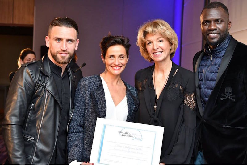 FDF Sabrina Keller prix 2018 aquatique show