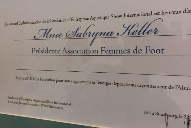 FDF prix aquatique show