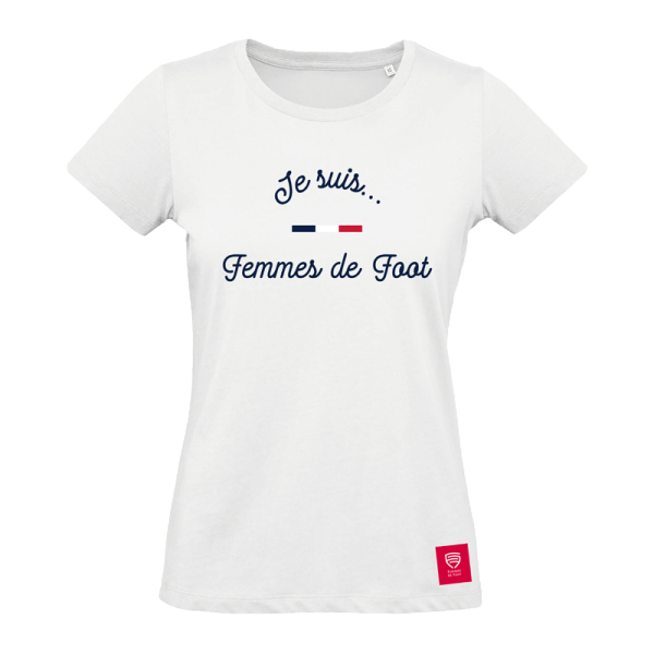 Tshirt - Je suis femmes de foot