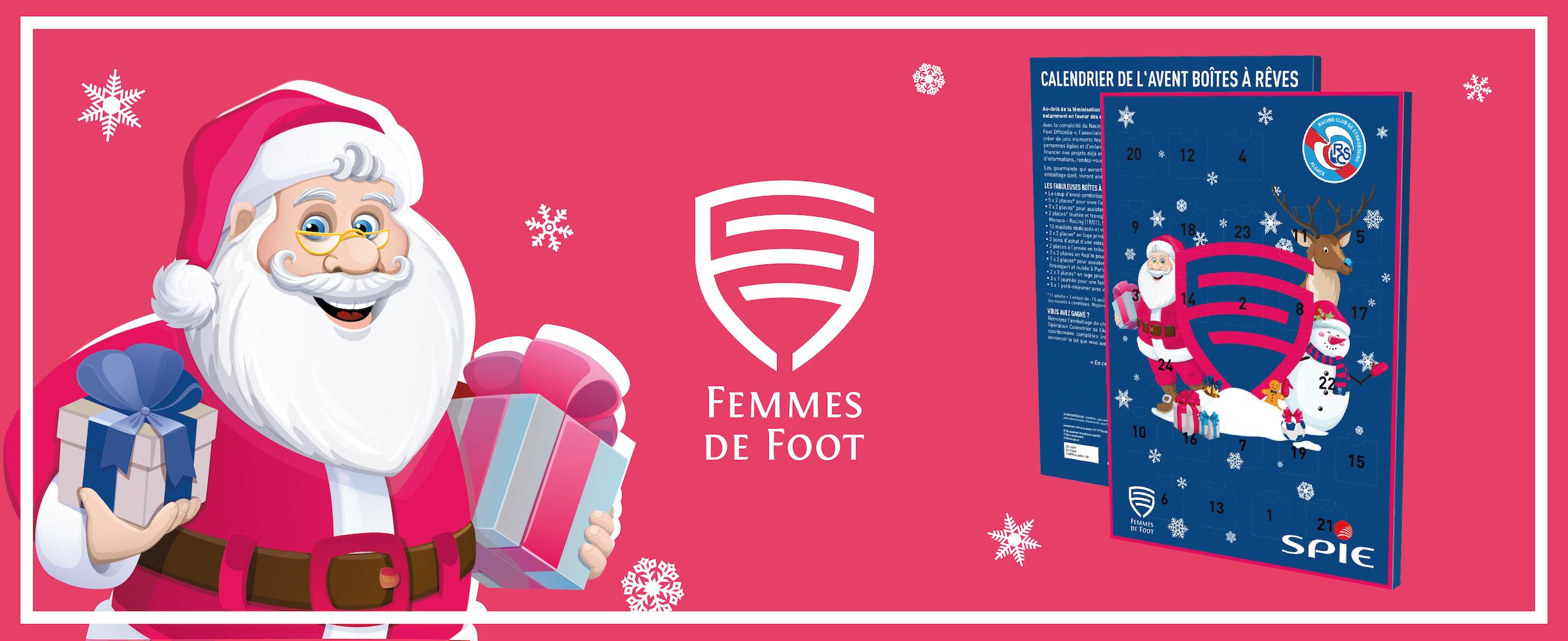 Calendrier De Lavent Femmes De Foot